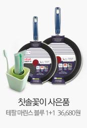 칫솔꽃이 사은품 테팔 마린스 블루 1+1  36,680원