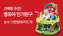 선배맘추천! 영유아 인기완구/쏘서 12만원대(카드가)